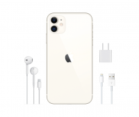 iPhone 11 Blanco.